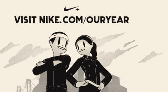 Nike Visualizes Running Data In 100.000 Personalized Videos by Pro Speaker Igor Beuker