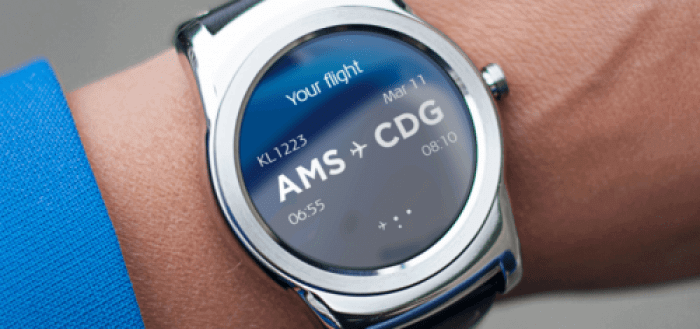 Wearable In Travel: KLM Launches Android Smartwatch App - by Igor Beuker, Pro Public Speaker, Author & Awakener