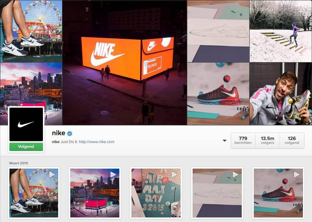 Nike on insta How Big Brands Boost Their Instagram Fanbase By Millions?