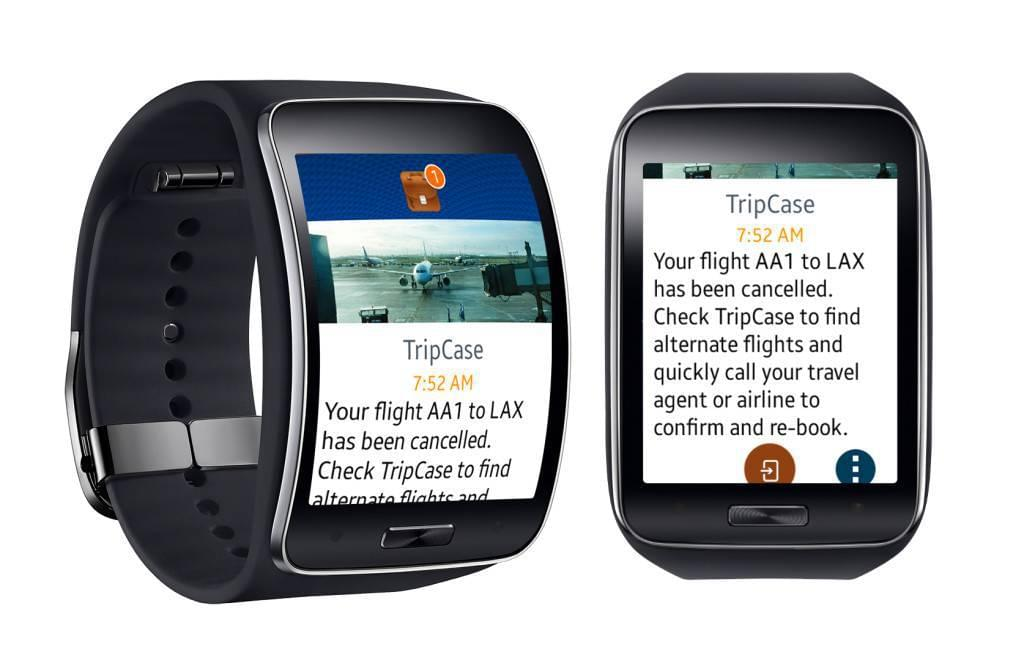 TC samsung gear s X2 1024x672 Wearable In Travel: KLM Launches Android Smartwatch App