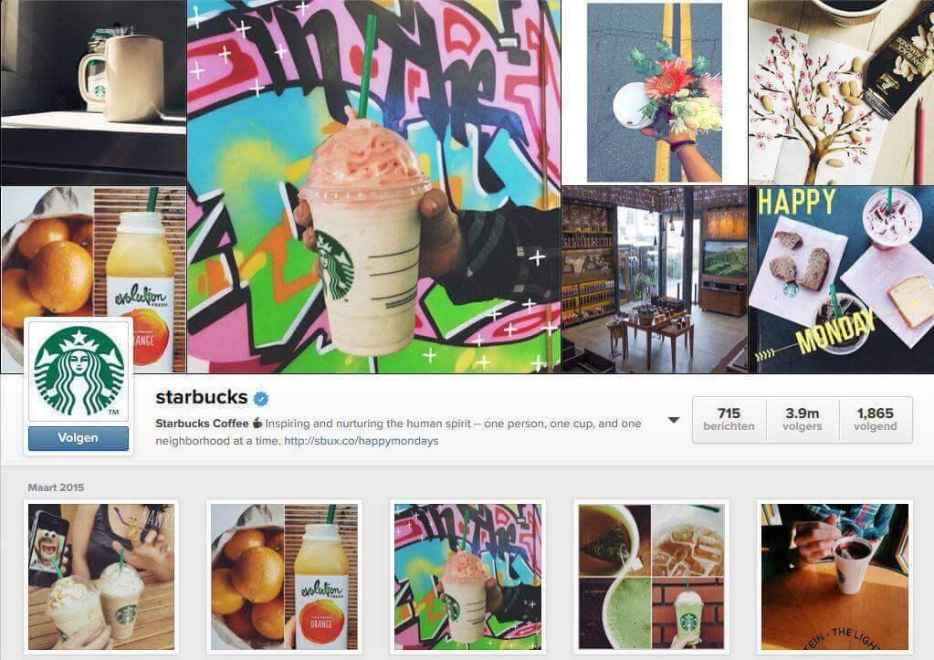 starbucksoninsta How Big Brands Boost Their Instagram Fanbase By Millions?