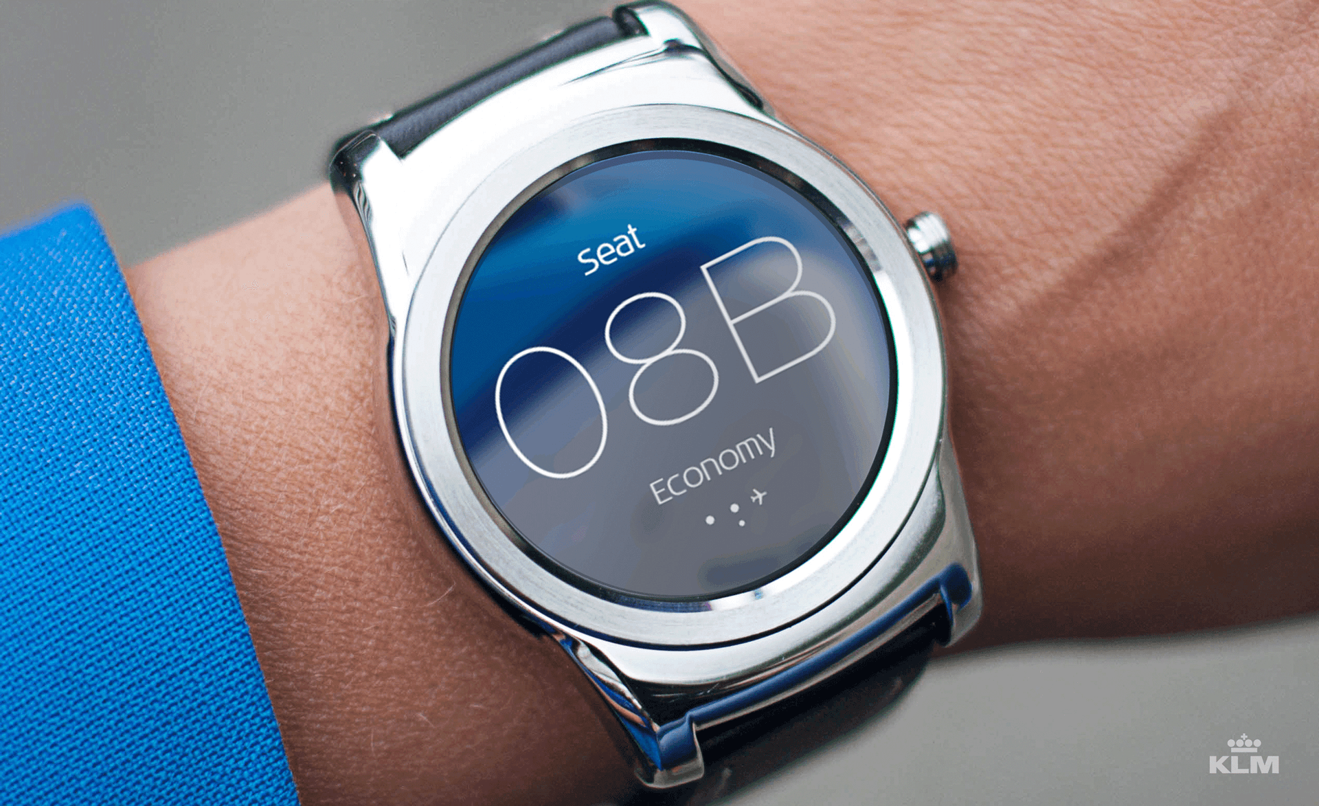 stoelnummer smartwatch app Wearable In Travel: KLM Launches Android Smartwatch App