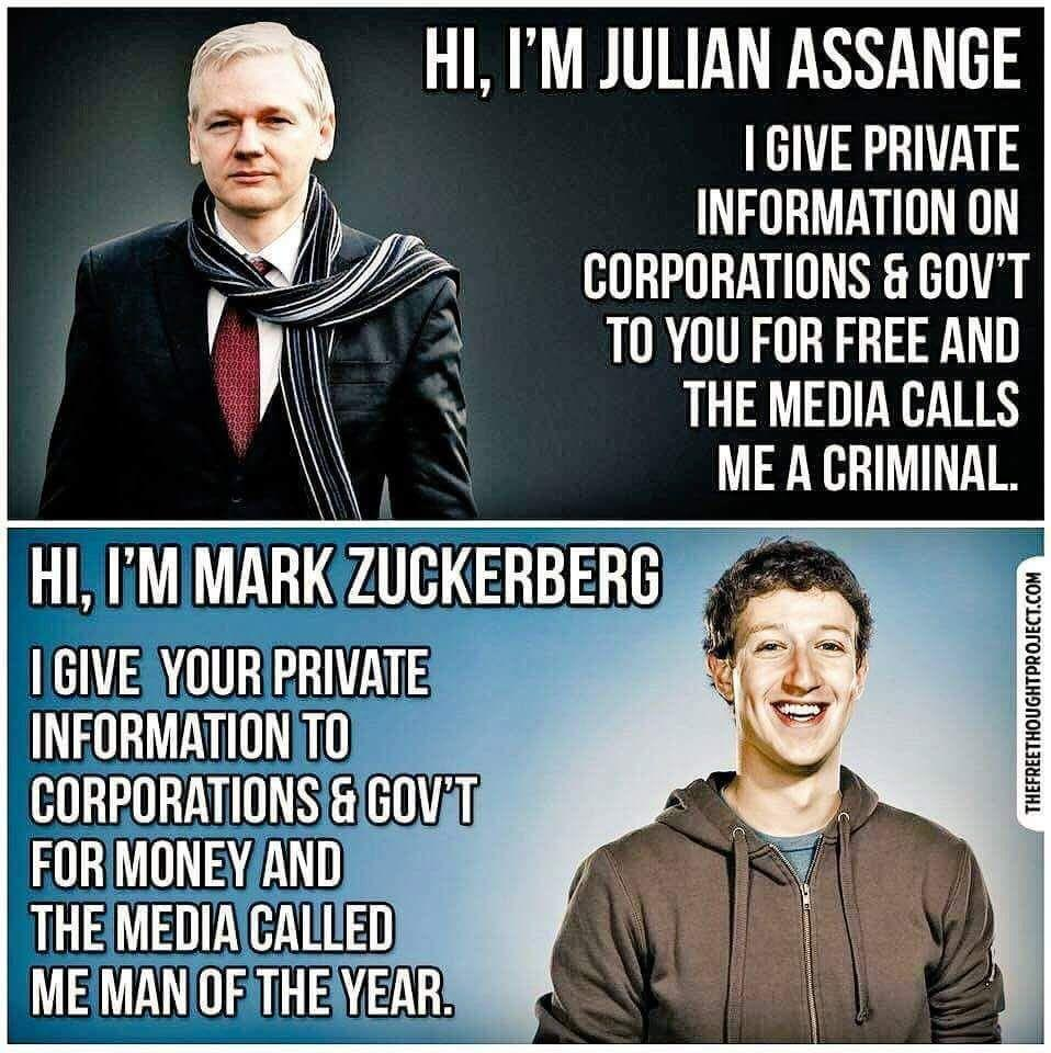 Assange is the bad ass, Zuckerberg the media man of the year? Keynote speaker Igor Beuker