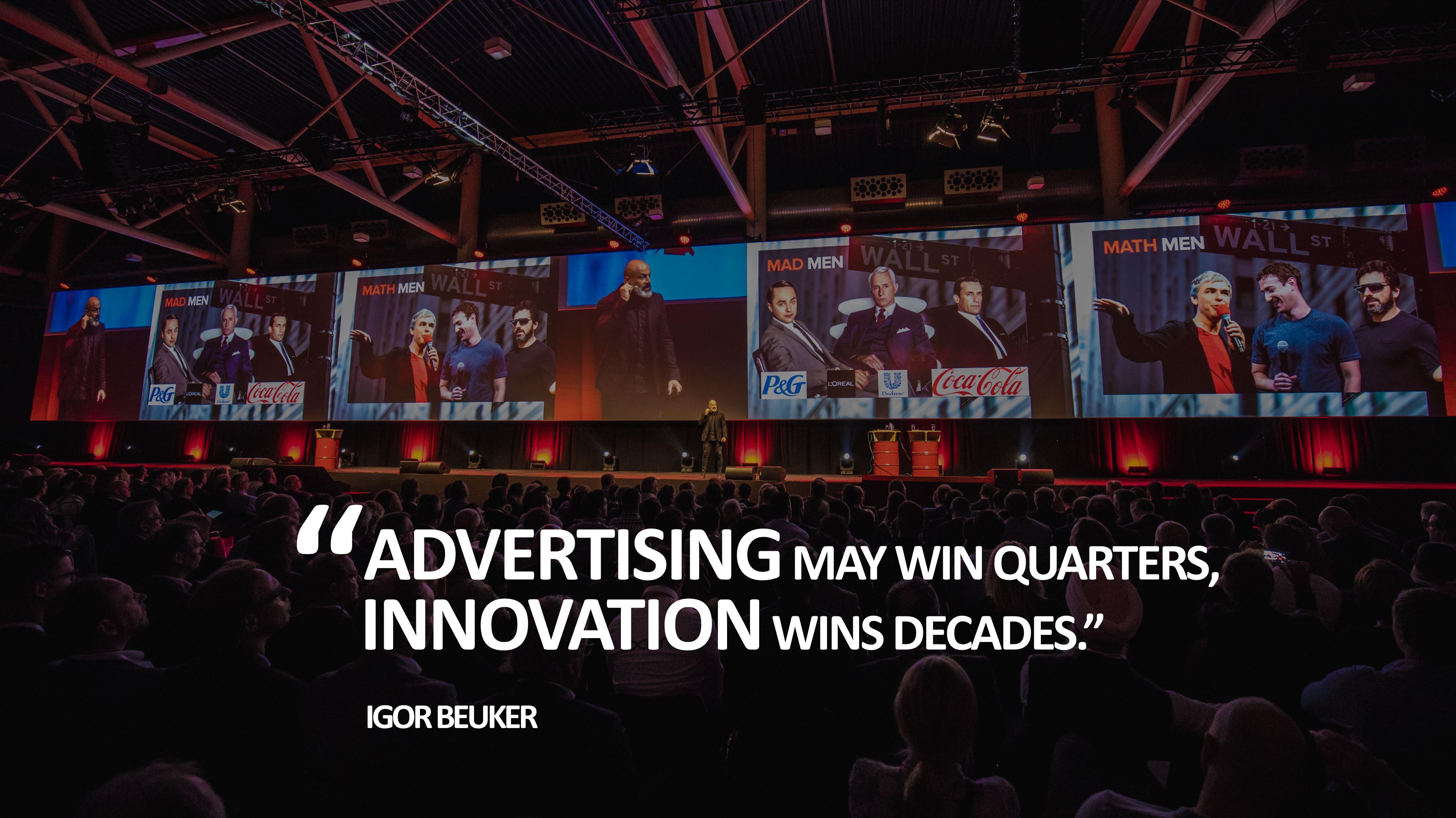 iab_keynote_speaker_host_igor_beuker_advertising may win quarters, innovations wins decades