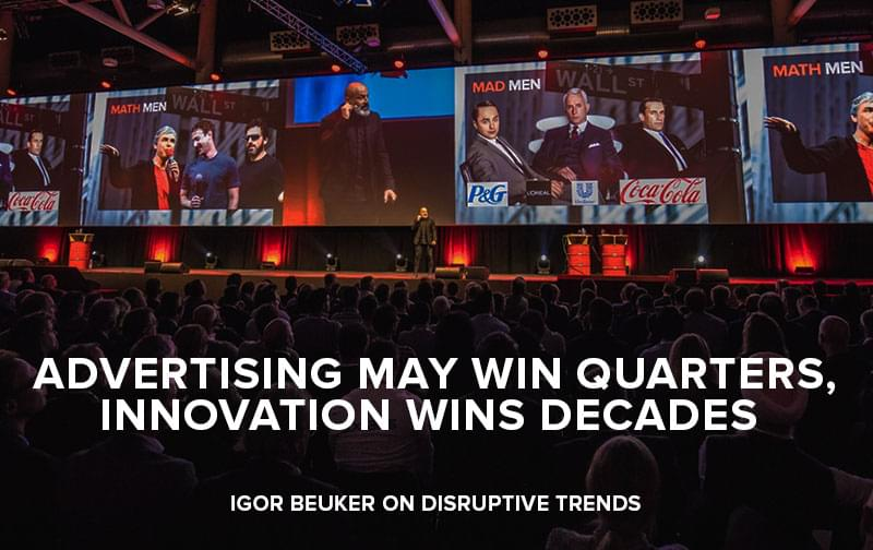 Igor Beuker Vision on Disruptive Trends